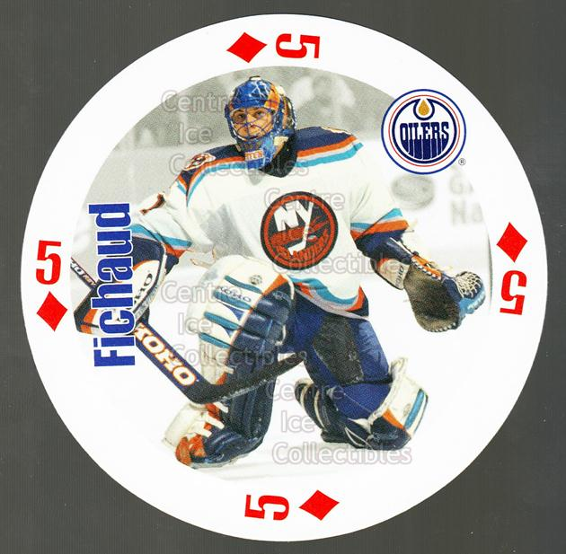 1998-99 NHL Aces Playing Card #31 Eric Fichaud<br/>4 In Stock - $2.00 each - <a href=https://centericecollectibles.foxycart.com/cart?name=1998-99%20NHL%20Aces%20Playing%20Card%20%2331%20Eric%20Fichaud...&price=$2.00&code=68511 class=foxycart> Buy it now! </a>