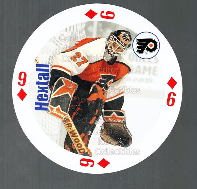1998-99 NHL Aces Playing Card #35 Ron Hextall<br/>1 In Stock - $2.00 each - <a href=https://centericecollectibles.foxycart.com/cart?name=1998-99%20NHL%20Aces%20Playing%20Card%20%2335%20Ron%20Hextall...&quantity_max=1&price=$2.00&code=68515 class=foxycart> Buy it now! </a>