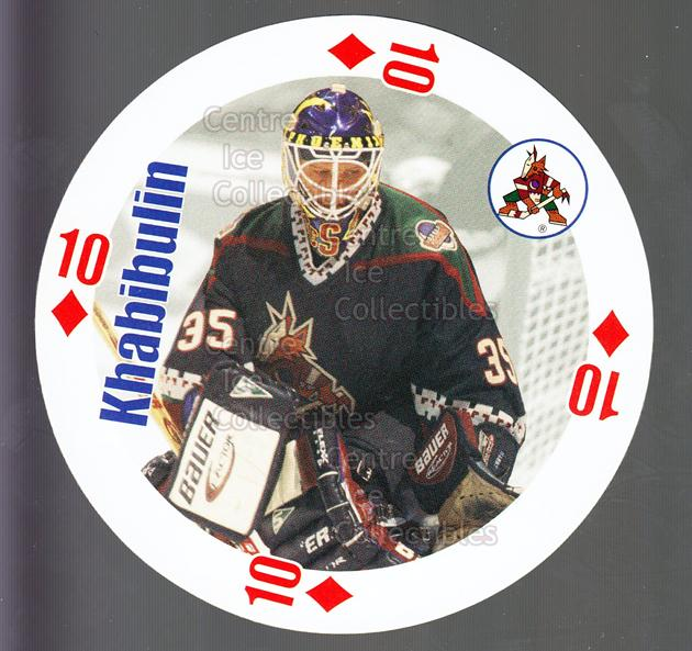 1998-99 NHL Aces Playing Card #36 Nikolai Khabibulin<br/>4 In Stock - $2.00 each - <a href=https://centericecollectibles.foxycart.com/cart?name=1998-99%20NHL%20Aces%20Playing%20Card%20%2336%20Nikolai%20Khabibu...&quantity_max=4&price=$2.00&code=68516 class=foxycart> Buy it now! </a>