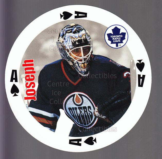 1998-99 NHL Aces Playing Card #40 Curtis Joseph<br/>2 In Stock - $2.00 each - <a href=https://centericecollectibles.foxycart.com/cart?name=1998-99%20NHL%20Aces%20Playing%20Card%20%2340%20Curtis%20Joseph...&quantity_max=2&price=$2.00&code=68521 class=foxycart> Buy it now! </a>