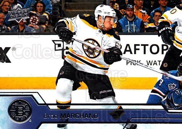 2016-17 Upper Deck #14 Brad Marchand<br/>15 In Stock - $1.00 each - <a href=https://centericecollectibles.foxycart.com/cart?name=2016-17%20Upper%20Deck%20%2314%20Brad%20Marchand...&quantity_max=15&price=$1.00&code=685649 class=foxycart> Buy it now! </a>