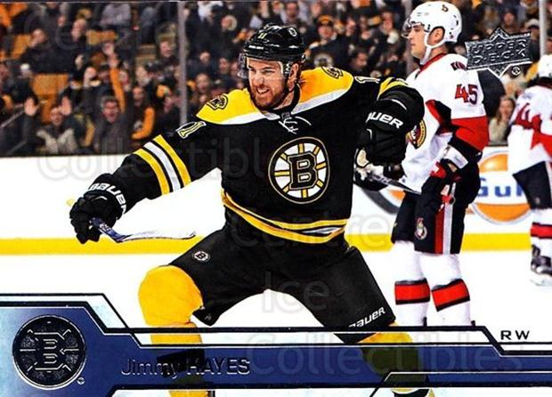 2016-17 Upper Deck #17 Jimmy Hayes<br/>14 In Stock - $1.00 each - <a href=https://centericecollectibles.foxycart.com/cart?name=2016-17%20Upper%20Deck%20%2317%20Jimmy%20Hayes...&quantity_max=14&price=$1.00&code=685652 class=foxycart> Buy it now! </a>