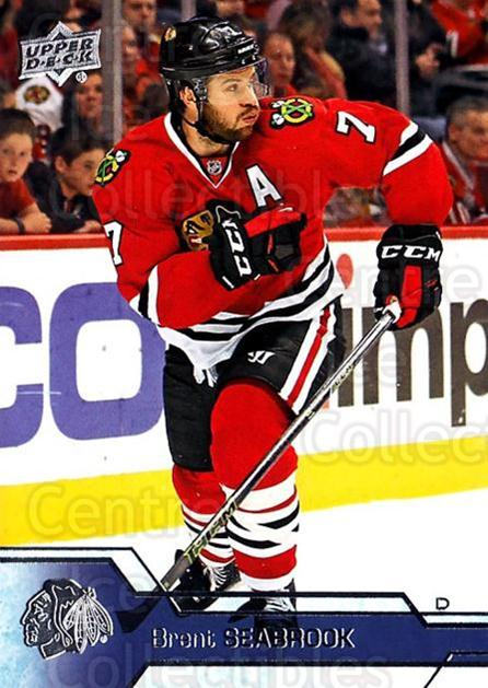 2016-17 Upper Deck #41 Brent Seabrook<br/>15 In Stock - $1.00 each - <a href=https://centericecollectibles.foxycart.com/cart?name=2016-17%20Upper%20Deck%20%2341%20Brent%20Seabrook...&quantity_max=15&price=$1.00&code=685676 class=foxycart> Buy it now! </a>
