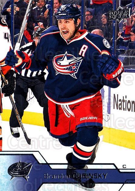 2016-17 Upper Deck #54 Brandon Dubinsky<br/>15 In Stock - $1.00 each - <a href=https://centericecollectibles.foxycart.com/cart?name=2016-17%20Upper%20Deck%20%2354%20Brandon%20Dubinsk...&quantity_max=15&price=$1.00&code=685689 class=foxycart> Buy it now! </a>