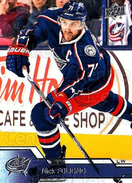 2016-17 Upper Deck #57 Nick Foligno<br/>15 In Stock - $1.00 each - <a href=https://centericecollectibles.foxycart.com/cart?name=2016-17%20Upper%20Deck%20%2357%20Nick%20Foligno...&quantity_max=15&price=$1.00&code=685692 class=foxycart> Buy it now! </a>