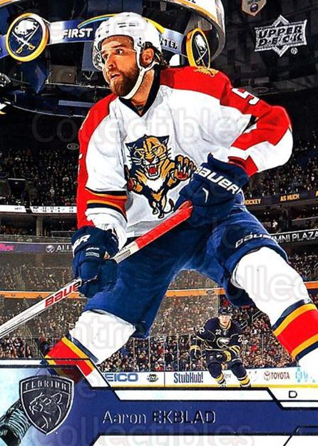 2016-17 Upper Deck #79 Aaron Ekblad<br/>17 In Stock - $1.00 each - <a href=https://centericecollectibles.foxycart.com/cart?name=2016-17%20Upper%20Deck%20%2379%20Aaron%20Ekblad...&quantity_max=17&price=$1.00&code=685714 class=foxycart> Buy it now! </a>