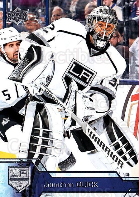2016-17 Upper Deck #89 Jonathan Quick<br/>11 In Stock - $1.00 each - <a href=https://centericecollectibles.foxycart.com/cart?name=2016-17%20Upper%20Deck%20%2389%20Jonathan%20Quick...&quantity_max=11&price=$1.00&code=685724 class=foxycart> Buy it now! </a>