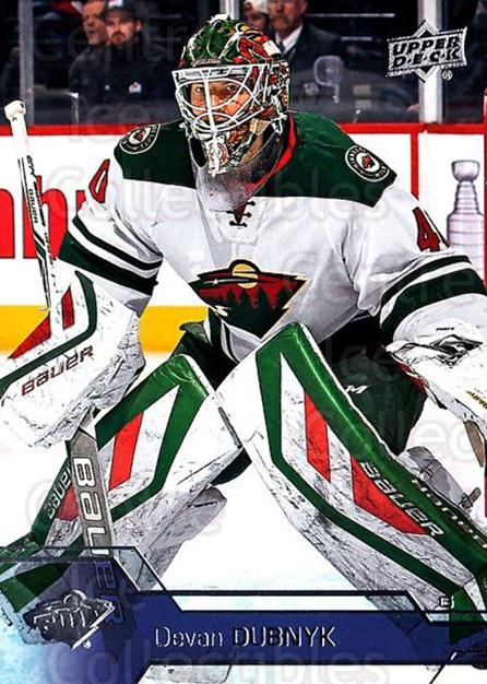 2016-17 Upper Deck #93 Devan Dubnyk<br/>17 In Stock - $1.00 each - <a href=https://centericecollectibles.foxycart.com/cart?name=2016-17%20Upper%20Deck%20%2393%20Devan%20Dubnyk...&quantity_max=17&price=$1.00&code=685728 class=foxycart> Buy it now! </a>