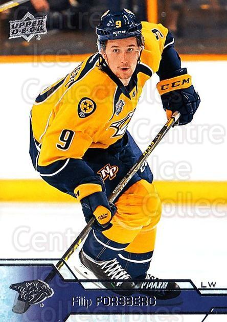 2016-17 Upper Deck #111 Filip Forsberg<br/>15 In Stock - $1.00 each - <a href=https://centericecollectibles.foxycart.com/cart?name=2016-17%20Upper%20Deck%20%23111%20Filip%20Forsberg...&quantity_max=15&price=$1.00&code=685746 class=foxycart> Buy it now! </a>