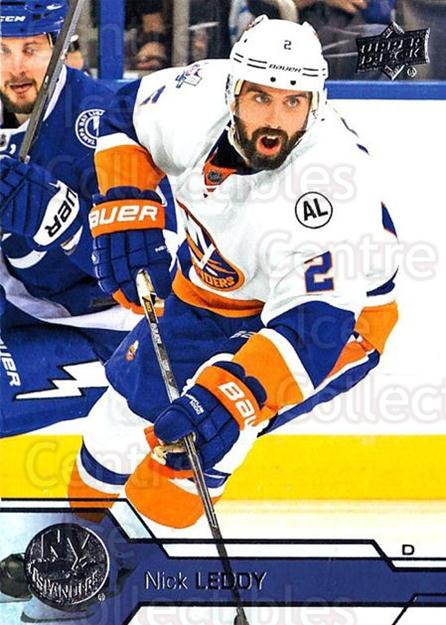 2016-17 Upper Deck #122 Nick Leddy<br/>17 In Stock - $1.00 each - <a href=https://centericecollectibles.foxycart.com/cart?name=2016-17%20Upper%20Deck%20%23122%20Nick%20Leddy...&quantity_max=17&price=$1.00&code=685757 class=foxycart> Buy it now! </a>