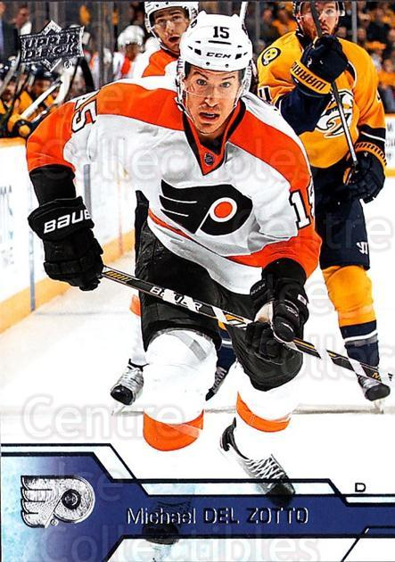 2016-17 Upper Deck #138 Michael Del Zotto<br/>17 In Stock - $1.00 each - <a href=https://centericecollectibles.foxycart.com/cart?name=2016-17%20Upper%20Deck%20%23138%20Michael%20Del%20Zot...&quantity_max=17&price=$1.00&code=685773 class=foxycart> Buy it now! </a>