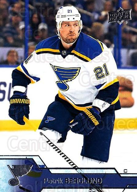 2016-17 Upper Deck #159 Patrik Berglund<br/>16 In Stock - $1.00 each - <a href=https://centericecollectibles.foxycart.com/cart?name=2016-17%20Upper%20Deck%20%23159%20Patrik%20Berglund...&quantity_max=16&price=$1.00&code=685794 class=foxycart> Buy it now! </a>