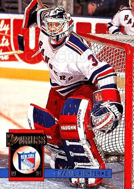 1993-94 Donruss #223 Mike Richter<br/>1 In Stock - $1.00 each - <a href=https://centericecollectibles.foxycart.com/cart?name=1993-94%20Donruss%20%23223%20Mike%20Richter...&quantity_max=1&price=$1.00&code=6857 class=foxycart> Buy it now! </a>
