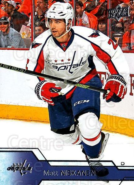 2016-17 Upper Deck #190 Matt Niskanen<br/>17 In Stock - $1.00 each - <a href=https://centericecollectibles.foxycart.com/cart?name=2016-17%20Upper%20Deck%20%23190%20Matt%20Niskanen...&quantity_max=17&price=$1.00&code=685825 class=foxycart> Buy it now! </a>