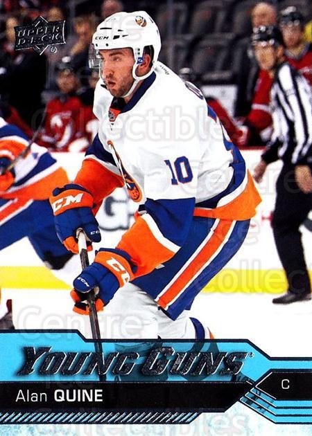 2016-17 Upper Deck #208 Alan Quine<br/>2 In Stock - $5.00 each - <a href=https://centericecollectibles.foxycart.com/cart?name=2016-17%20Upper%20Deck%20%23208%20Alan%20Quine...&quantity_max=2&price=$5.00&code=685843 class=foxycart> Buy it now! </a>