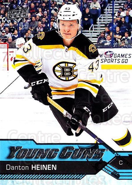 2016-17 Upper Deck #209 Danton Heinen<br/>2 In Stock - $5.00 each - <a href=https://centericecollectibles.foxycart.com/cart?name=2016-17%20Upper%20Deck%20%23209%20Danton%20Heinen...&quantity_max=2&price=$5.00&code=685844 class=foxycart> Buy it now! </a>