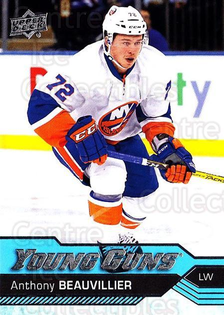 2016-17 Upper Deck #220 Anthony Beauvillier<br/>1 In Stock - $10.00 each - <a href=https://centericecollectibles.foxycart.com/cart?name=2016-17%20Upper%20Deck%20%23220%20Anthony%20Beauvil...&quantity_max=1&price=$10.00&code=685855 class=foxycart> Buy it now! </a>