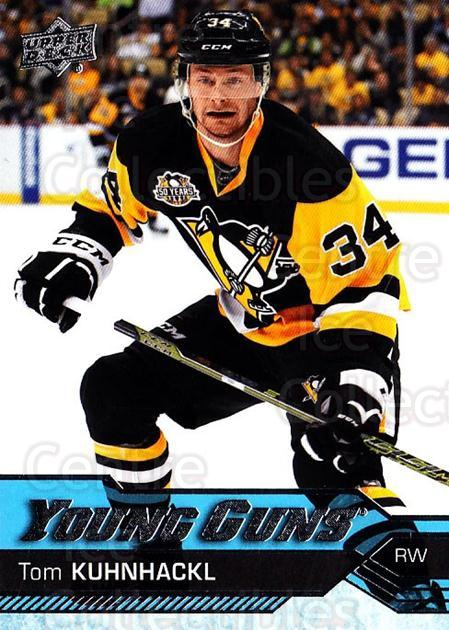 2016-17 Upper Deck #223 Tom Kuhnhackl<br/>1 In Stock - $5.00 each - <a href=https://centericecollectibles.foxycart.com/cart?name=2016-17%20Upper%20Deck%20%23223%20Tom%20Kuhnhackl...&quantity_max=1&price=$5.00&code=685858 class=foxycart> Buy it now! </a>