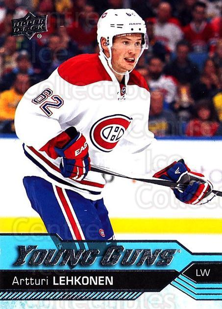 2016-17 Upper Deck #232 Artturi Lehkonen<br/>3 In Stock - $5.00 each - <a href=https://centericecollectibles.foxycart.com/cart?name=2016-17%20Upper%20Deck%20%23232%20Artturi%20Lehkone...&quantity_max=3&price=$5.00&code=685867 class=foxycart> Buy it now! </a>