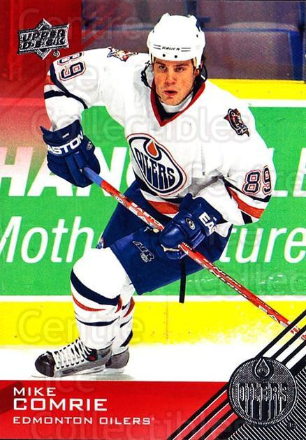 2013-14 Upper Deck Edmonton Oilers #52 Mike Comrie<br/>2 In Stock - $1.00 each - <a href=https://centericecollectibles.foxycart.com/cart?name=2013-14%20Upper%20Deck%20Edmonton%20Oilers%20%2352%20Mike%20Comrie...&quantity_max=2&price=$1.00&code=685937 class=foxycart> Buy it now! </a>
