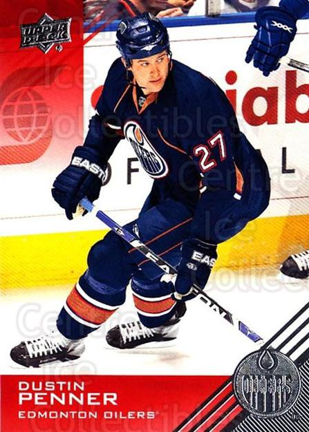 2013-14 Upper Deck Edmonton Oilers #71 Dustin Penner<br/>2 In Stock - $1.00 each - <a href=https://centericecollectibles.foxycart.com/cart?name=2013-14%20Upper%20Deck%20Edmonton%20Oilers%20%2371%20Dustin%20Penner...&quantity_max=2&price=$1.00&code=685956 class=foxycart> Buy it now! </a>