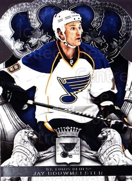 2013-14 Crown Royale #49 Jay Bouwmeester<br/>1 In Stock - $1.00 each - <a href=https://centericecollectibles.foxycart.com/cart?name=2013-14%20Crown%20Royale%20%2349%20Jay%20Bouwmeester...&quantity_max=1&price=$1.00&code=686024 class=foxycart> Buy it now! </a>