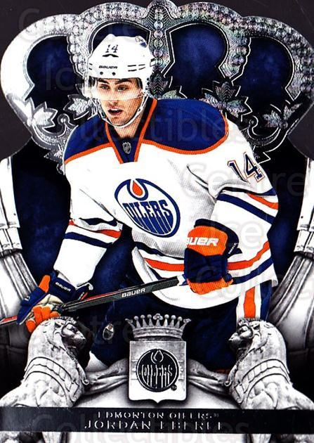 2013-14 Crown Royale #60 Jordan Eberle<br/>1 In Stock - $1.00 each - <a href=https://centericecollectibles.foxycart.com/cart?name=2013-14%20Crown%20Royale%20%2360%20Jordan%20Eberle...&quantity_max=1&price=$1.00&code=686035 class=foxycart> Buy it now! </a>