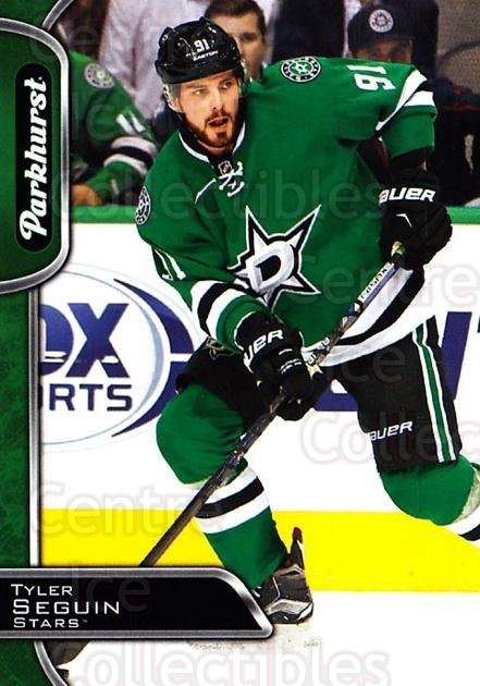 2016-17 Parkhurst #110 Tyler Seguin<br/>5 In Stock - $1.00 each - <a href=https://centericecollectibles.foxycart.com/cart?name=2016-17%20Parkhurst%20%23110%20Tyler%20Seguin...&quantity_max=5&price=$1.00&code=686587 class=foxycart> Buy it now! </a>
