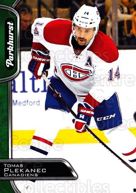 2016-17 Parkhurst #168 Tomas Plekanec<br/>3 In Stock - $1.00 each - <a href=https://centericecollectibles.foxycart.com/cart?name=2016-17%20Parkhurst%20%23168%20Tomas%20Plekanec...&quantity_max=3&price=$1.00&code=686645 class=foxycart> Buy it now! </a>
