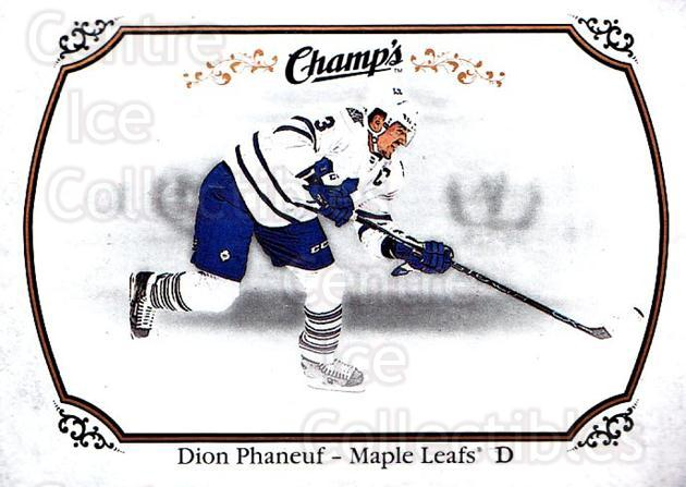 2015-16 Upper Deck Champs #13 Dion Phaneuf<br/>1 In Stock - $1.00 each - <a href=https://centericecollectibles.foxycart.com/cart?name=2015-16%20Upper%20Deck%20Champs%20%2313%20Dion%20Phaneuf...&price=$1.00&code=686890 class=foxycart> Buy it now! </a>