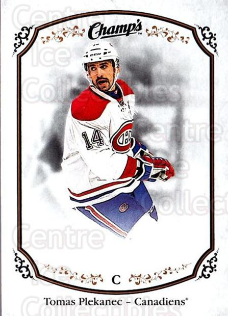 2015-16 Upper Deck Champs #36 Tomas Plekanec<br/>2 In Stock - $1.00 each - <a href=https://centericecollectibles.foxycart.com/cart?name=2015-16%20Upper%20Deck%20Champs%20%2336%20Tomas%20Plekanec...&quantity_max=2&price=$1.00&code=686913 class=foxycart> Buy it now! </a>