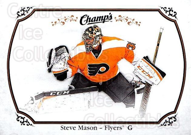 2015-16 Upper Deck Champs #42 Steve Mason<br/>2 In Stock - $1.00 each - <a href=https://centericecollectibles.foxycart.com/cart?name=2015-16%20Upper%20Deck%20Champs%20%2342%20Steve%20Mason...&quantity_max=2&price=$1.00&code=686919 class=foxycart> Buy it now! </a>
