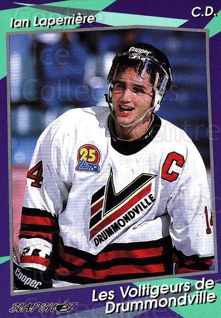1993-94 Drummondville Voltigeurs #10 Ian Laperriere<br/>2 In Stock - $3.00 each - <a href=https://centericecollectibles.foxycart.com/cart?name=1993-94%20Drummondville%20Voltigeurs%20%2310%20Ian%20Laperriere...&price=$3.00&code=6871 class=foxycart> Buy it now! </a>