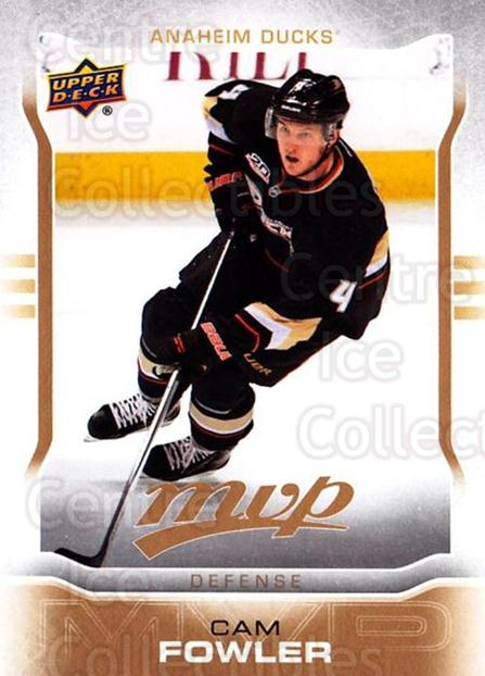 2014-15 Upper Deck MVP #75 Cam Fowler<br/>2 In Stock - $1.00 each - <a href=https://centericecollectibles.foxycart.com/cart?name=2014-15%20Upper%20Deck%20MVP%20%2375%20Cam%20Fowler...&price=$1.00&code=687279 class=foxycart> Buy it now! </a>