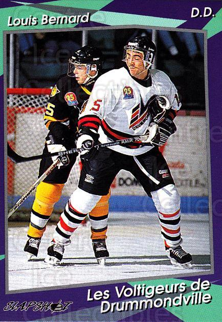 1993-94 Drummondville Voltigeurs #11 Louis Bernard<br/>4 In Stock - $3.00 each - <a href=https://centericecollectibles.foxycart.com/cart?name=1993-94%20Drummondville%20Voltigeurs%20%2311%20Louis%20Bernard...&price=$3.00&code=6872 class=foxycart> Buy it now! </a>