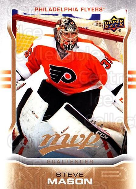 2014-15 Upper Deck MVP #103 Steve Mason<br/>1 In Stock - $1.00 each - <a href=https://centericecollectibles.foxycart.com/cart?name=2014-15%20Upper%20Deck%20MVP%20%23103%20Steve%20Mason...&quantity_max=1&price=$1.00&code=687307 class=foxycart> Buy it now! </a>