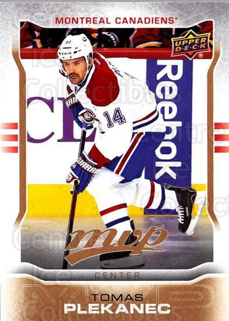 2014-15 Upper Deck MVP #162 Tomas Plekanec<br/>2 In Stock - $1.00 each - <a href=https://centericecollectibles.foxycart.com/cart?name=2014-15%20Upper%20Deck%20MVP%20%23162%20Tomas%20Plekanec...&quantity_max=2&price=$1.00&code=687366 class=foxycart> Buy it now! </a>