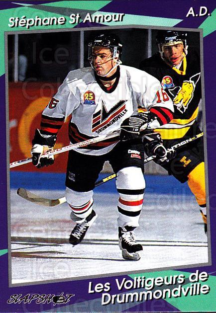 1993-94 Drummondville Voltigeurs #12 Stephane St.Amour<br/>4 In Stock - $3.00 each - <a href=https://centericecollectibles.foxycart.com/cart?name=1993-94%20Drummondville%20Voltigeurs%20%2312%20Stephane%20St.Amo...&price=$3.00&code=6873 class=foxycart> Buy it now! </a>