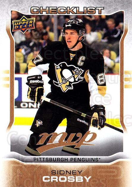 2014-15 Upper Deck MVP #200 Sidney Crosby, Checklist<br/>1 In Stock - $2.00 each - <a href=https://centericecollectibles.foxycart.com/cart?name=2014-15%20Upper%20Deck%20MVP%20%23200%20Sidney%20Crosby,%20...&price=$2.00&code=687404 class=foxycart> Buy it now! </a>