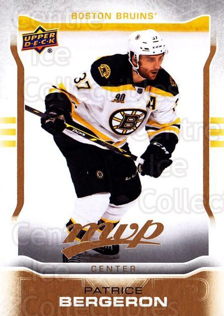 2014-15 Upper Deck MVP #210 Patrice Bergeron<br/>1 In Stock - $3.00 each - <a href=https://centericecollectibles.foxycart.com/cart?name=2014-15%20Upper%20Deck%20MVP%20%23210%20Patrice%20Bergero...&quantity_max=1&price=$3.00&code=687414 class=foxycart> Buy it now! </a>