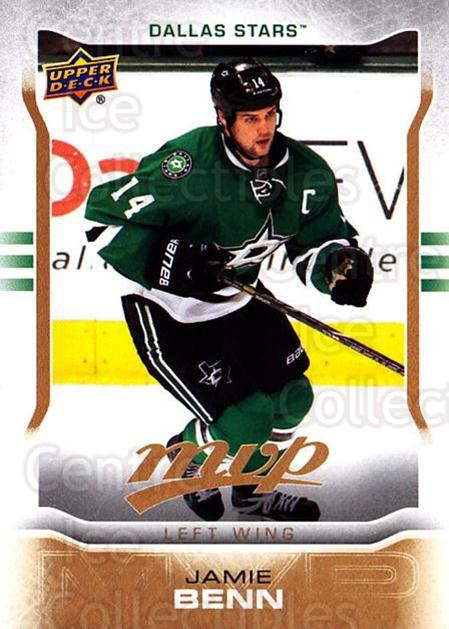 2014-15 Upper Deck MVP #267 Jamie Benn<br/>1 In Stock - $3.00 each - <a href=https://centericecollectibles.foxycart.com/cart?name=2014-15%20Upper%20Deck%20MVP%20%23267%20Jamie%20Benn...&quantity_max=1&price=$3.00&code=687471 class=foxycart> Buy it now! </a>