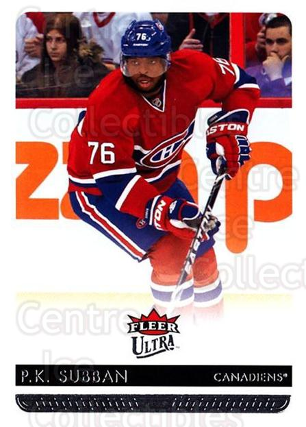 2014-15 Ultra #99 PK Subban<br/>2 In Stock - $1.00 each - <a href=https://centericecollectibles.foxycart.com/cart?name=2014-15%20Ultra%20%2399%20PK%20Subban...&quantity_max=2&price=$1.00&code=687639 class=foxycart> Buy it now! </a>