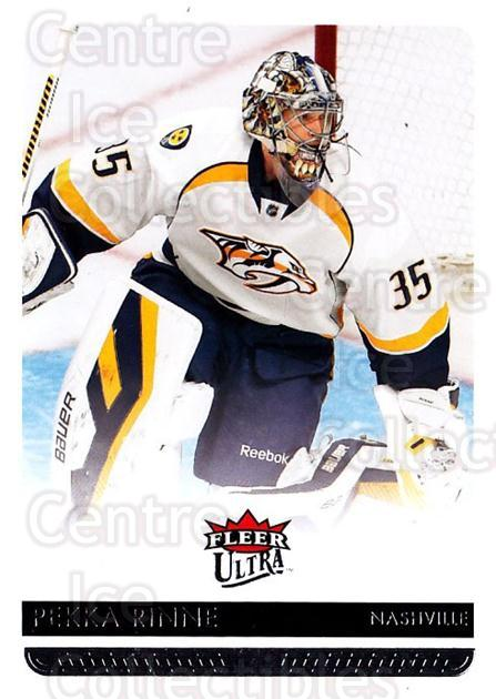 2014-15 Ultra #106 Pekka Rinne<br/>2 In Stock - $1.00 each - <a href=https://centericecollectibles.foxycart.com/cart?name=2014-15%20Ultra%20%23106%20Pekka%20Rinne...&quantity_max=2&price=$1.00&code=687646 class=foxycart> Buy it now! </a>
