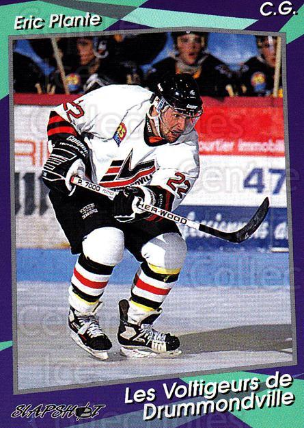1993-94 Drummondville Voltigeurs #15 Eric Plante<br/>4 In Stock - $3.00 each - <a href=https://centericecollectibles.foxycart.com/cart?name=1993-94%20Drummondville%20Voltigeurs%20%2315%20Eric%20Plante...&price=$3.00&code=6876 class=foxycart> Buy it now! </a>