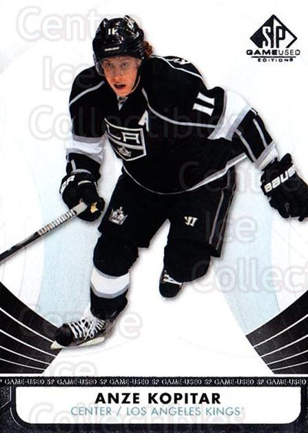 2012-13 Sp Game Used #54 Anze Kopitar<br/>1 In Stock - $1.00 each - <a href=https://centericecollectibles.foxycart.com/cart?name=2012-13%20Sp%20Game%20Used%20%2354%20Anze%20Kopitar...&quantity_max=1&price=$1.00&code=687824 class=foxycart> Buy it now! </a>