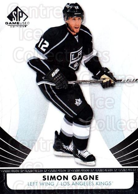 2012-13 Sp Game Used #56 Simon Gagne<br/>1 In Stock - $1.00 each - <a href=https://centericecollectibles.foxycart.com/cart?name=2012-13%20Sp%20Game%20Used%20%2356%20Simon%20Gagne...&quantity_max=1&price=$1.00&code=687826 class=foxycart> Buy it now! </a>