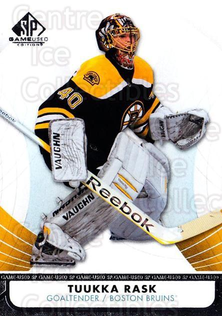 2012-13 Sp Game Used #94 Tuukka Rask<br/>1 In Stock - $2.00 each - <a href=https://centericecollectibles.foxycart.com/cart?name=2012-13%20Sp%20Game%20Used%20%2394%20Tuukka%20Rask...&quantity_max=1&price=$2.00&code=687864 class=foxycart> Buy it now! </a>