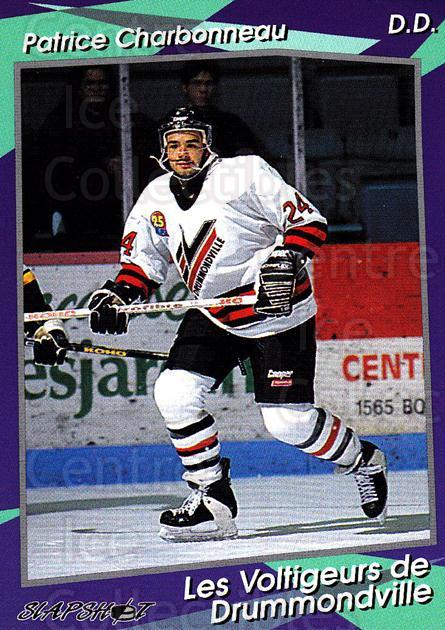 1993-94 Drummondville Voltigeurs #17 Patrick Charbonneau<br/>3 In Stock - $3.00 each - <a href=https://centericecollectibles.foxycart.com/cart?name=1993-94%20Drummondville%20Voltigeurs%20%2317%20Patrick%20Charbon...&price=$3.00&code=6878 class=foxycart> Buy it now! </a>