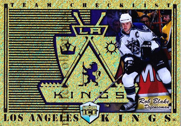 1998-99 Dynagon Ice Team Checklists #12 Rob Blake<br/>5 In Stock - $3.00 each - <a href=https://centericecollectibles.foxycart.com/cart?name=1998-99%20Dynagon%20Ice%20Team%20Checklists%20%2312%20Rob%20Blake...&quantity_max=5&price=$3.00&code=68791 class=foxycart> Buy it now! </a>