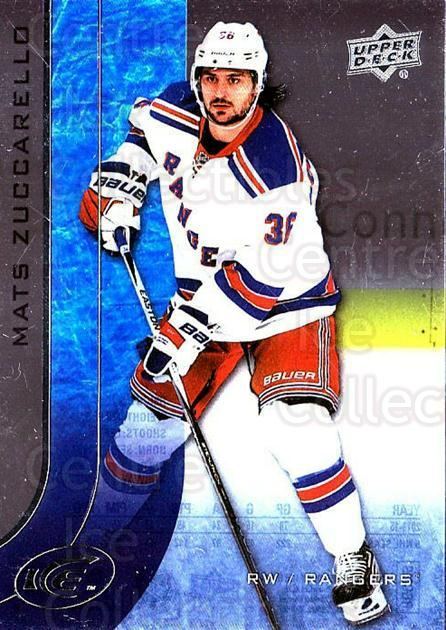 2015-16 UD Ice #3 Mats Zuccarello<br/>6 In Stock - $2.00 each - <a href=https://centericecollectibles.foxycart.com/cart?name=2015-16%20UD%20Ice%20%233%20Mats%20Zuccarello...&quantity_max=6&price=$2.00&code=687921 class=foxycart> Buy it now! </a>